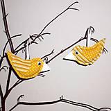 Dekorácie - vtáčik jarný - 5100288_