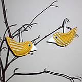 Dekorácie - vtáčik jarný - 5100289_