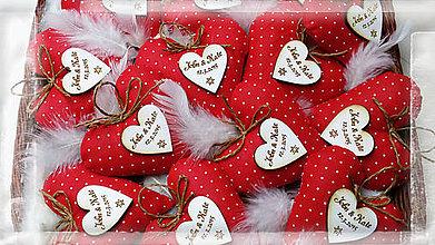 Darčeky pre svadobčanov - svadobné levanduľové srdiečka - 5097942_