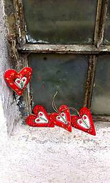Dekorácie - Rozkvitnuté srdce - 5097891_