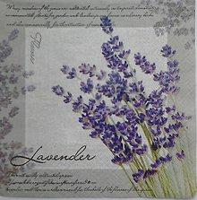 Papier - servítka levanduľová - 5097121_