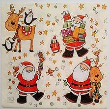 Papier - servítka vianočná - 5097242_