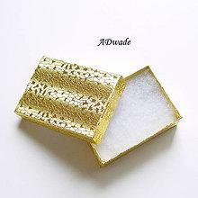 Obalový materiál - Krabička na bižutériu malá - 5102792_