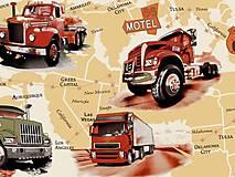 - Detská látka s kamiónmi - 5103588_