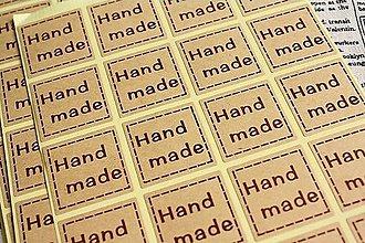 Papier - Hárok s 20ks nálepiek HANDMADE - 5103976_
