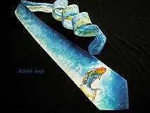 Doplnky - Hodvábna kravata V znamení ryby - 5102626_