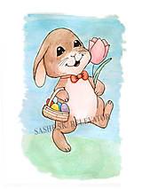 Papiernictvo - Veľkonočný zajačik - 5101073_