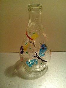 Dekorácie - ozdobné fľašky/vázičky - 5106632_