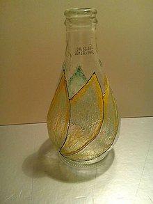 Nádoby - ozdobné fľašky/ vázičky - 5106642_