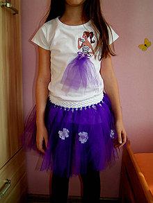 b03a10456cf5 Detské oblečenie - Dievčenské tričko Barbie v tylovej sukni - 5106162