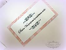 - Kartičky k svadobnému oznámenius potlačou podla svad. oznámenia - 5109158_