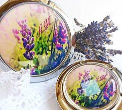 Zrkadielka - Set Levanduľa - tex na želanie - 5106324_
