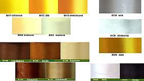 Papiernictvo - Svadobné menovky na stôl - rôzne farby - 5111297_