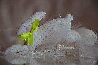 Dekorácie - Zajac skokan - 5111513_