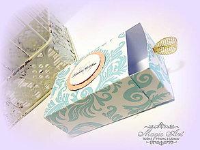 Darčeky pre svadobčanov - Krabička