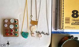 Náhrdelníky - srdiečkový náhrdelník - 5115295_