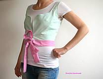 Topy - vesta/prucel - Pastelový folk - 5116256_