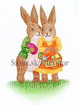 Papiernictvo - Veľkonočné zajačiky - 5113821_