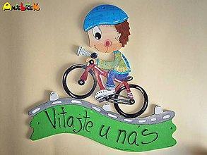 Tabuľky - Menovka - bicykel - 5122424_