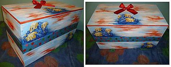 Nábytok - Truhlica na hračky,box veľký :) - 5122243_