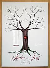 Papiernictvo - Wedding tree - 5119334_