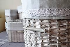 Košíky - Kôš na prádlo ASHENI - 5119383_