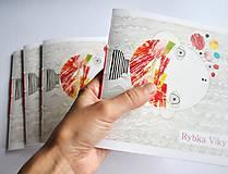 Drobnosti - autorská kniha - Rybka Viky - 5121267_