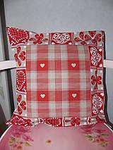 Úžitkový textil - Obliečka  - Srdénková 2 - 5126387_