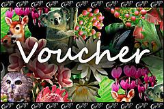 Darčekové poukážky - voucher  v hodnote 50 eur - 5125917_