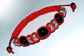 Náramky - náramok z čierneho turmalinu - 5130086_