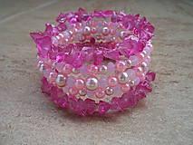 Náramky - Pink eye - 5129034_