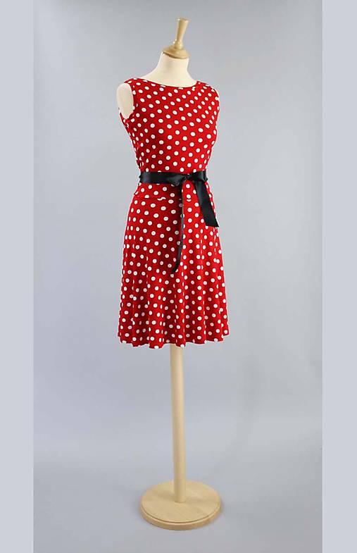 ba61ab41f926a Bodkované šaty ...červeno biele / ZuzanaZachar - SAShE.sk - Handmade ...