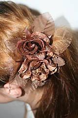 Ozdoby do vlasov - Les Femmes de beauté brun - 5132144_