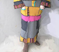 Sukne - hippies nožohrejka sukňa - 5131190_