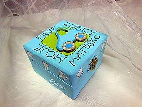 Detské doplnky - krabička na prvé vypadnuté zúbky - 5129403_