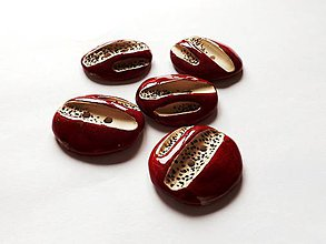 Sady šperkov - gombíky + náušničky - 5130207_