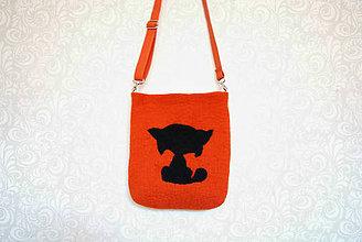 Kabelky - Plstená taška