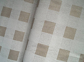 """Textil - Dekoračná látka """"štvorce"""" - 5129035_"""