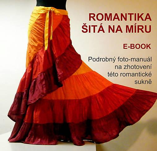 Romantika šitá na míru -ebook, návod na sukni