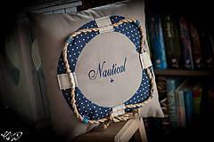 """Úžitkový textil - Vankúšik """"Nautical No.2"""" - 5133795_"""