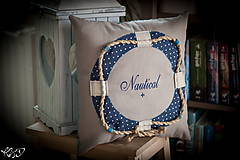 """Úžitkový textil - Vankúšik """"Nautical No.2"""" - 5133796_"""