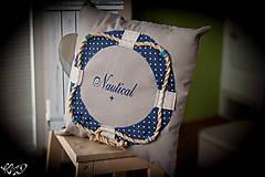 """Úžitkový textil - Vankúšik """"Nautical No.2"""" - 5133797_"""