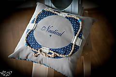 """Úžitkový textil - Vankúšik """"Nautical No.2"""" - 5133800_"""