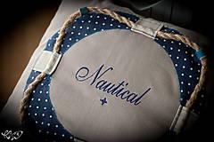 """Úžitkový textil - Vankúšik """"Nautical No.2"""" - 5133803_"""