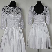 Šaty - Korzetové šaty s holým chrbátom do U rôzne farby - 5136779_