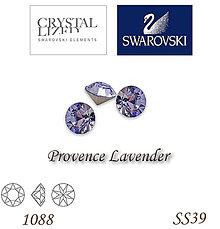 Korálky - SWAROVSKI® ELEMENTS 1088 Xirius Chaton - Provence Lavender, SS39, bal.1ks - 5135304_