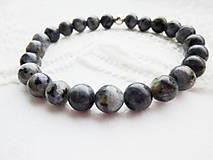 Šperky - Unisex náramok: Achát – kameň ochrany a sily... - 5140234_