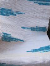 koberec tkaný  biely 70 x 250 cm