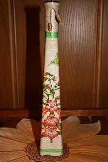 Dekorácie - Váza - kolibri - 5140896_