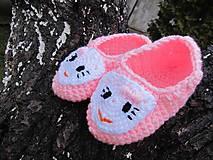 Topánočky - Ružové papučky - 5138016_